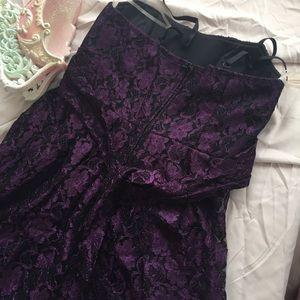 Studio Y Dresses - Purple lace dress